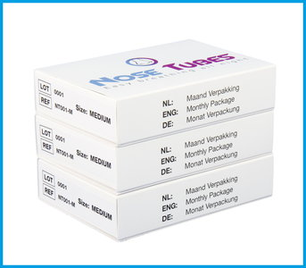 NoseTubes Quarterly Package - Size: M