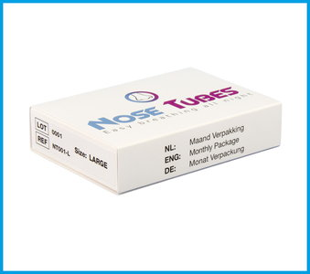 NoseTubes Monthly Package - Size: L