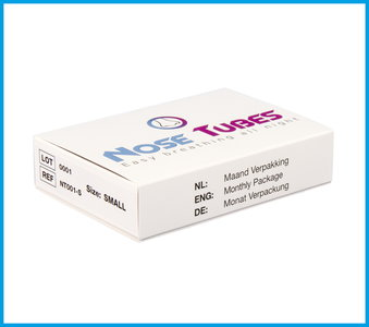 NoseTubes Monthly Package - Size: S